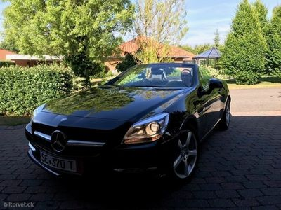 usata Mercedes SLK200 1,8 CGI BlueEfficiency 184HK Cabr. 7g Aut.