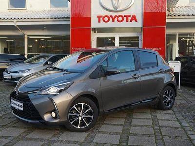 brugt Toyota Yaris 1,5 VVT-I T3 Smartpakke Multidrive S 111HK 5d 6g A
