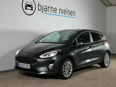 brugt Ford Fiesta 1,0 EcoBoost mHEV Titanium