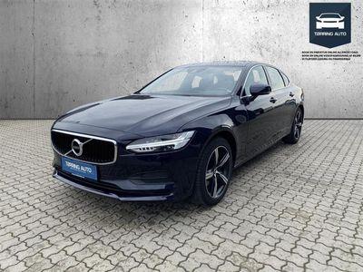 brugt Volvo S90 2,0 D5 Momentum AWD 235HK 8g Aut. - Personbil - Mørkblåmetal