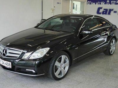 brugt Mercedes E200 8 CGi Elegance Coupé aut. BE