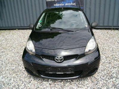 brugt Toyota Aygo 1,0 Black