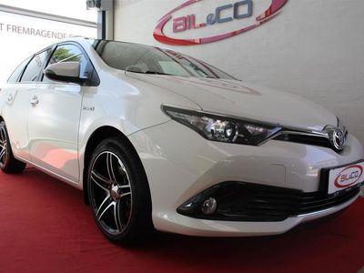 brugt Toyota Auris Hybrid 1,8 B/EL Comfort Safety Skyview 136HK 5d Aut.