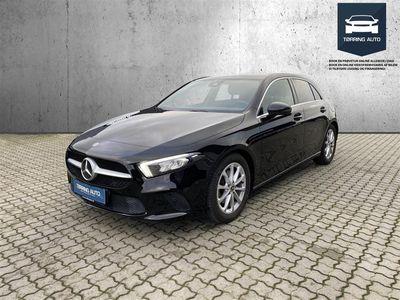 brugt Mercedes A200 1,3 Advantage 7G-DCT 163HK 5d 7g Aut. - Personbil - Sort