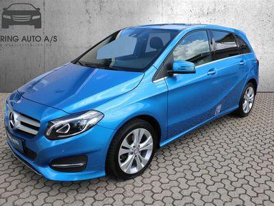 brugt Mercedes B200 2,1 CDI 136HK 6g - Personbil - blåmetal