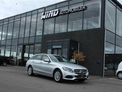 brugt Mercedes C200 d T 1,6 D 136HK Stc 6g