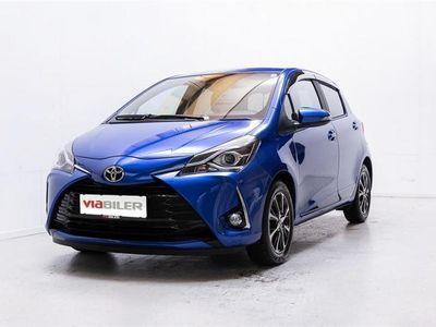 brugt Toyota Yaris 1,5 VVT-I T3 Smartpakke Multidrive S 111HK 5d 6g Aut.