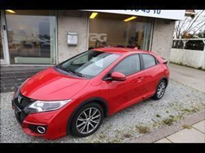 brugt Honda Civic 1,6 i-DTEC Lifestyle Navi & ADAS 120HK 5d 6g