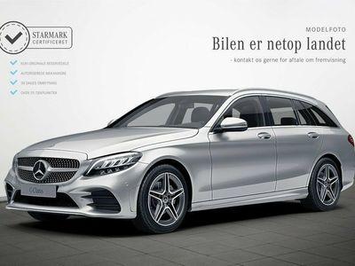 używany Mercedes C220 d 2,0 AMG Line stc. aut.
