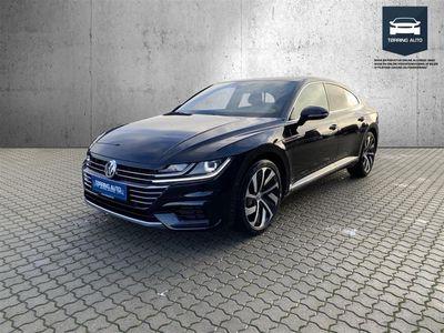 brugt VW Arteon 2,0 TSI R-Line DSG 190HK 5d 7g Aut. - Personbil - Sortmetal