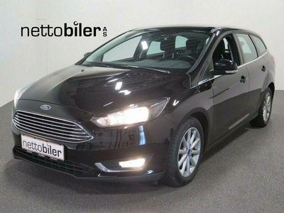 brugt Ford Focus 1,5 TDCi 120 Titanium stc.