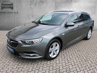 brugt Opel Insignia Sports Tourer 1,6 CDTI Dynamic Start/Stop 136HK Stc 6g Aut. - Personbil - gråmetal