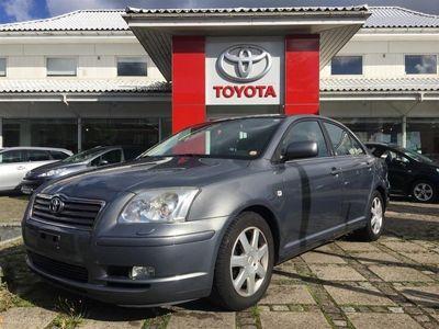brugt Toyota Avensis 2,0 Linea Sol 147HK