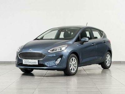brugt Ford Fiesta 1,0 EcoBoost Hybrid Titanium Start/Stop 155HK 5d 6g