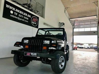 brugt Jeep Wrangler 2,5 B 3d
