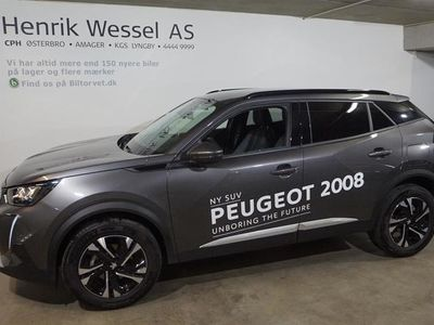 brugt Peugeot 2008 1,2 PureTech Allure Pack 130HK A+