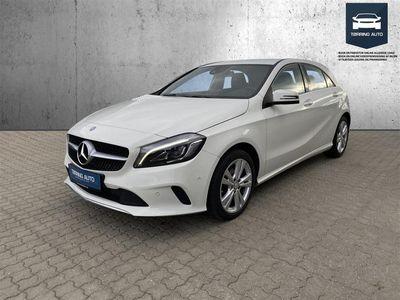 brugt Mercedes A180 d 1,5 CDI 7G-DCT 109HK 5d 7g Aut. - Personbil - Hvid