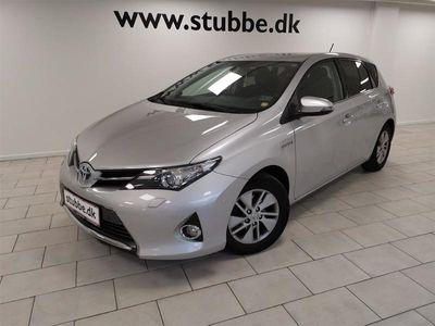 brugt Toyota Auris Hybrid 1,8 B/EL + 136HK 5d