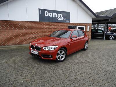 brugt BMW 120 2,0 d Steptronic Sport Line 191HK aut 5d
