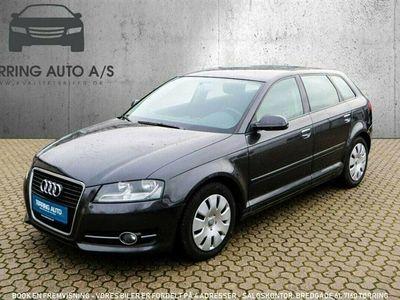 brugt Audi A3 Sportback 1,6 TDI DPF Ambiente 105HK 5d - Personbil - Gråmetal