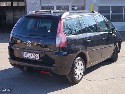 brugt Citroën Grand C4 Picasso 1,6 HDI SX 110HK