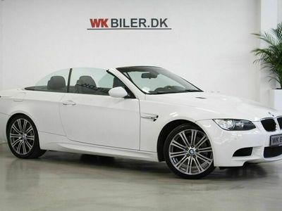 brugt BMW M3 Cabriolet M3 4,0 Cabriolet DKG 2d 4,0 DKG 2d