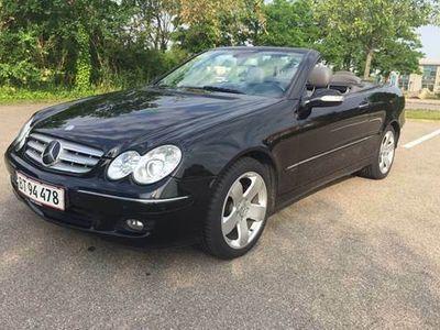 brugt Mercedes CLK280 3,0 Elegance