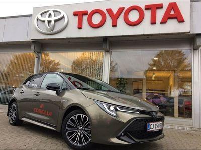 brugt Toyota Corolla 2,0 B/EL H3 Smartpakke E-CVT 180HK 5d 6g Aut.