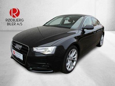 brugt Audi A5 Sportback 2,0 TDi 190 Multitr.