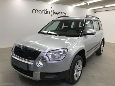 usado Skoda Yeti 1,6 TDI Common Rail DPF Greenline Ambition 105HK