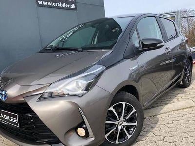 gebraucht Toyota Yaris 1,5 Hybrid H3 Premiumpakke E-CVT 100HK 5d