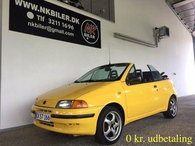 brugt Fiat Punto Cabriolet 1,2 16V