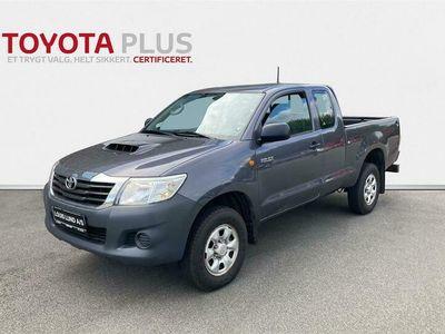 brugt Toyota HiLux 2,5 D-4D, Ex.Cab 4WD 144HK Pick-Up E