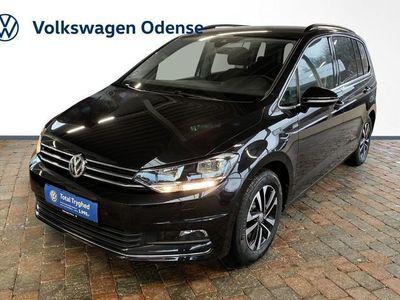 brugt VW Touran 1,6 TDi 115 IQ.Drive 7prs