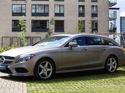 brugt Mercedes CLS350 Shooting Brake 3,0 D 9G-Tronic 258HK Stc 9g Aut. - Personbil - MANGANITE GRAY MAGNO