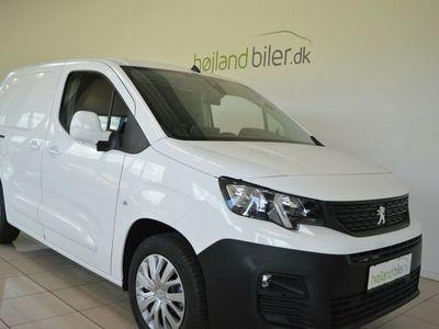 brugt Peugeot Partner 1,5 BlueHDi 100 L1V1 Ultimate