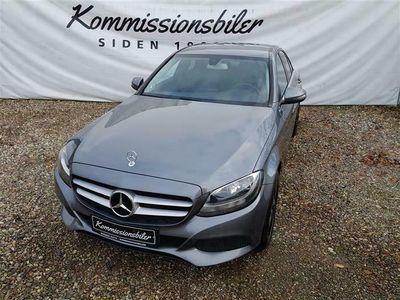 brugt Mercedes C200 d 2,1 D 7G-Tronic Plus 136HK 7g Aut.