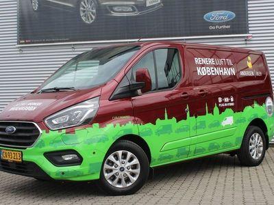 brugt Ford Custom Transit340 L1H1 1,0 B/EL Limited 126HK Van 6g Aut.
