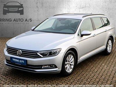używany VW Passat Variant 1,4 TSI BMT ACT Comfortline Plus DSG 150HK Stc 7g Aut. - Personbil - sølvmetal