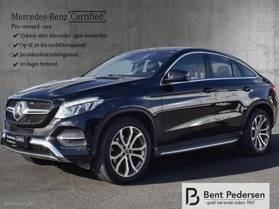 used Mercedes GLE400 Coupe 3,5 4-Matic 9G-Tronic 333HK 5d 9g Aut.