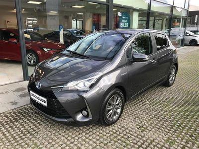brugt Toyota Yaris Hybrid 1,5 B/EL Premium Safety Sense E-CVT 100HK 5d Tr