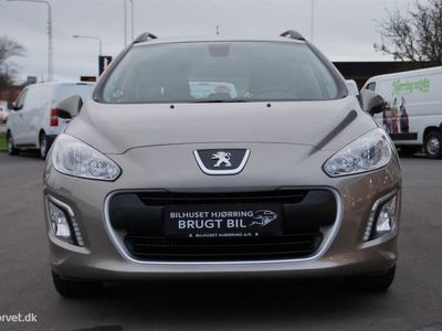 brugt Peugeot 308 SW 1,6 HDI Active 92HK Stc