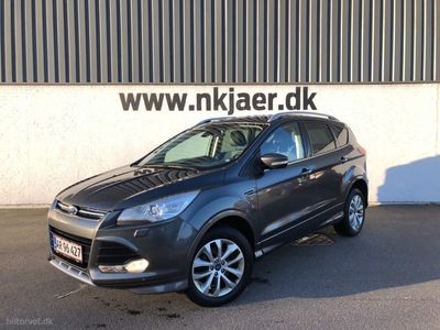 used Ford Kuga 2,0 TDCi Titanium Plus 4x4 Powershift 163HK 5d 6g Aut.