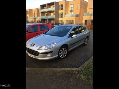 brugt Peugeot 407 SW 1,6 HDI Performance 109HK Stc