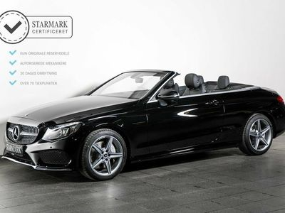 second-hand Mercedes C300 2,0 Cabriolet aut.