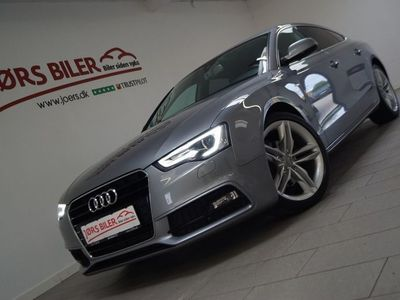 brugt Audi A5 Sportback 1,8 TFSi 170 S-line Multitr.