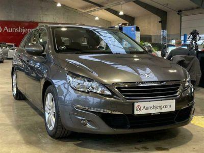 brugt Peugeot 308 SW 1,6 BlueHDi Active EAT6 120HK Stc 6g Aut.