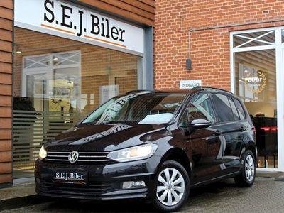 brugt VW Touran 1,6 TDi Comfortline DSG 7prs 115HK aut 5d