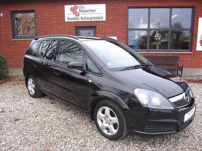 brugt Opel Zafira 1,8 16V Limited 140HK