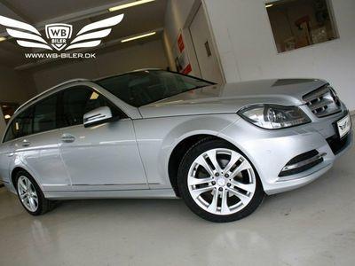 brugt Mercedes C200 2,2 CDi Avantgarde stc. aut. BE